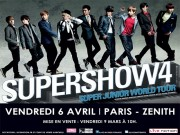 super show 4 paris