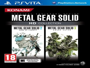 mgs hd collection jaquette