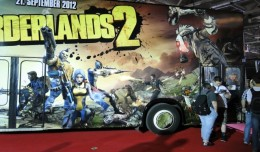GC 2012 Take Two Borderlands 2 bus