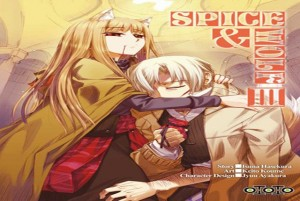 Spice & wolf tome 3 cover