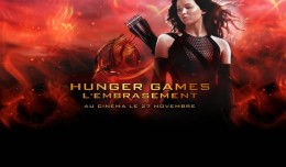 Hunger Games 2 l'embrasement logo