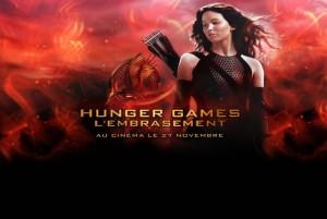 Hunger Games 2 l'embrasement logo