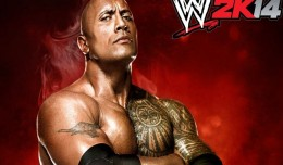 wwe 2k14 logo the rock