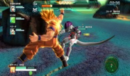 dbz battle of z fight