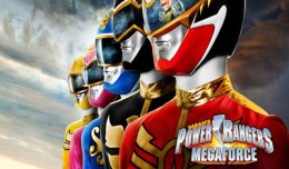 power rangers megaforce 3DS logo