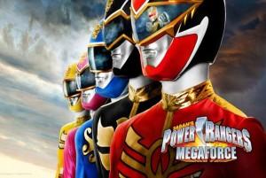 power rangers megaforce 3DS logo