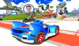 sonic & sega racing transformed iphone