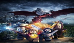 Lego the hobbit artwork exclusif