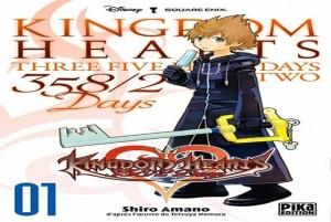 kingdom hearts 358 2 days tome 1 logo