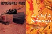 Komikku reversible man chef nobunaga cover montage