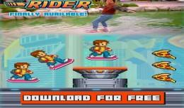 hoverboard rider logo