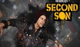 inFamous Second Son Review Test Logo