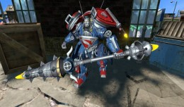 infinite crisis mecha superman