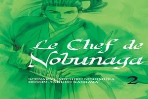 Le chef de nobunaga tome 2 cover