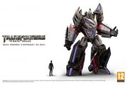 Megatron new look the dark spark transformers taille réelle