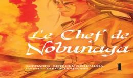 le chef de nobunaga tome 1 cover