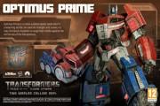 optimus prime cybertron transformers rise of the dark spark