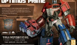 optimus prime cybertron transformers rise of the dark spark