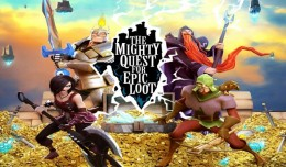 the mighty quest for epic loot logo test