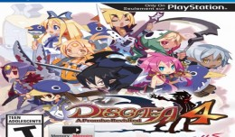 disgaea 4 playstation vita logo cover