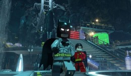 lego batman 3 gotham batcave