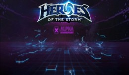 Heroes of the Storm Alpha Preview Logo