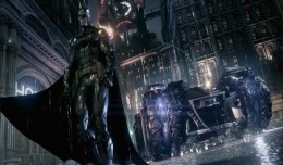 arkham knight batman batmobile