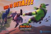 orcs must die unchained screen logo beta