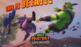 orcs must die unchained screen logo beta
