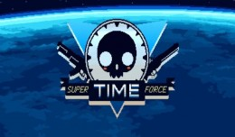 super time force test review logo