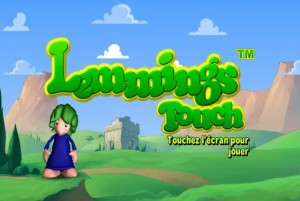 Lemmings Touch Review PS Vita Logo