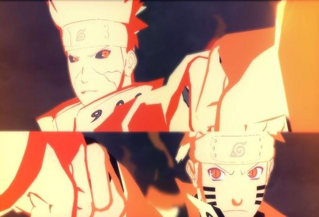 Naruto Shippuden UNSR Minato Naruto Combo Ultimate Jutsu