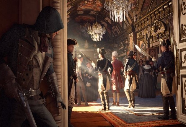 assassin's creed unity anvil moteur paris logo