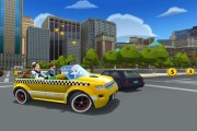 crazy taxi city rush launch screen 3