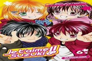 je t'aime suzuki tome 6 kurokawa cover
