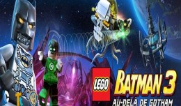 lego batman 3 comic con logo