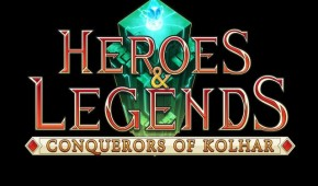 Heroes & Legends conquerors of kolhar preview screen logo