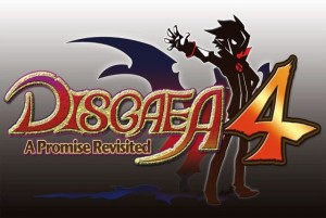 Disgaea 4 A Promise Revisited Vita Review Logo