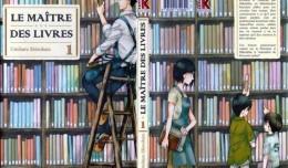 Le maitre des livres tome 1 cover komikku