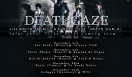 DEATHGAZE TOUR DATES Hyatus N-Gamz