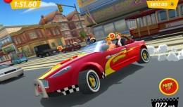 Hulk Hogan Crazy Taxi City rush screen logo