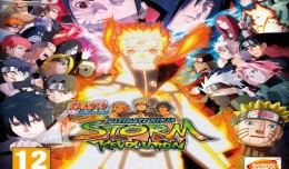 Naruto Shippuden - ultimate ninja storm revolution review logo