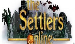 The Settlers Online halloween logo