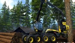 farming simulator 15 foret logo