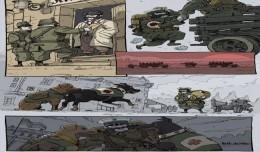 soldats inconnus bande-dessinée interactive