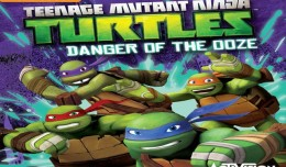 tortues ninja danger of the ooze screen logo