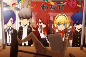 Persona Q 3DS launch Screen Logo