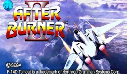 after burner 2 3d sega logo