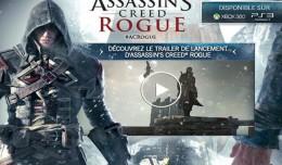 assassin's creed rogue lancement logo