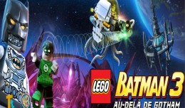 lego batman 3 au dela de gotham making of logo